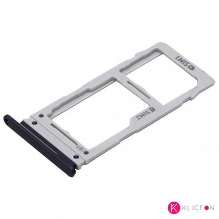 Bandeja Dual SIM/SD Samsung S10, S10e, S10 Plus Negro