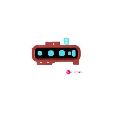 Lente de camara con embellecedor Samsung S10 G973F rosa